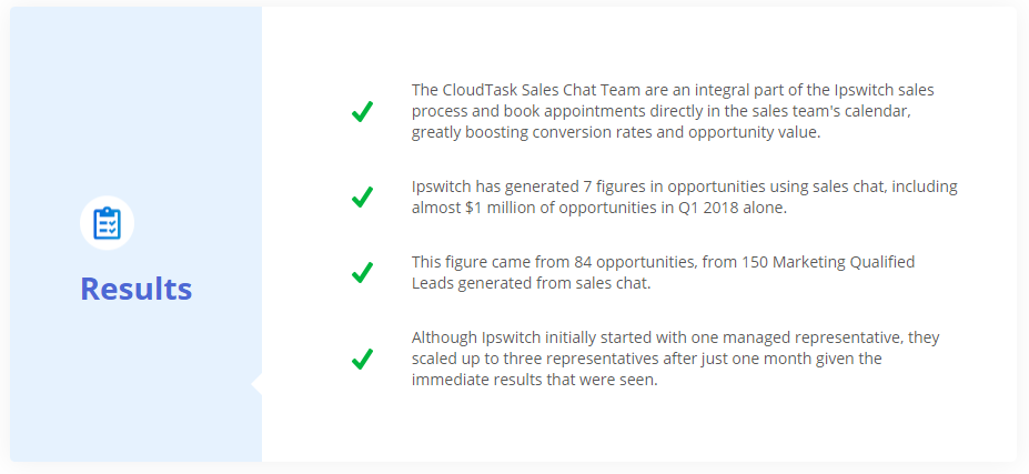 Sales Chat Results-1